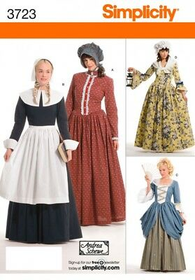 Simplicity Ladies Sewing Pattern 3723 Historical Fancy Dress Costumes (Simpli...