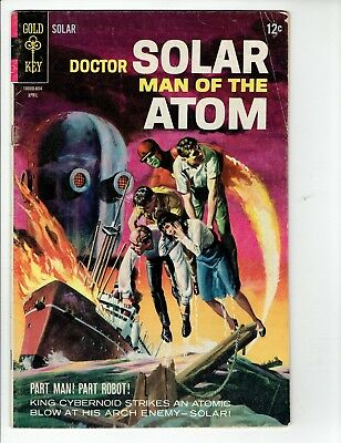 DOCTOR SOLAR MAN OF THE ATOM #23 Gold Key Silver Age Comic 1968 VG-