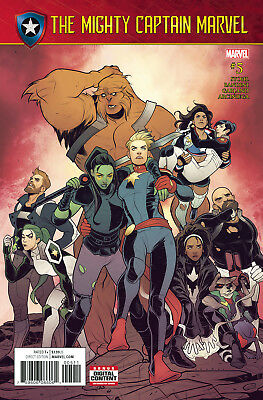 MIGHTY CAPTAIN MARVEL #5, New, First print, Marvel NOW (2017)