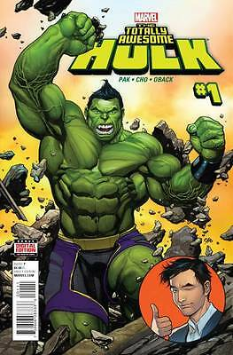 TOTALLY AWESOME HULK #1, New, First print, Marvel Comics (2015)