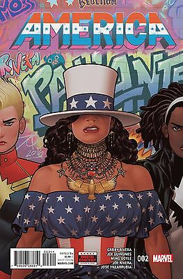 AMERICA #2, New, First print, Marvel Comics (2017)