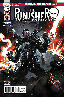 PUNISHER #218 LEGACY, New, First print, Marvel Comics (2017)