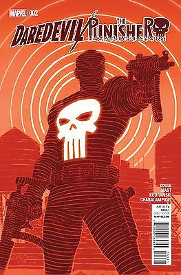 DAREDEVIL PUNISHER #2, New, First print, Marvel Comics (2016)