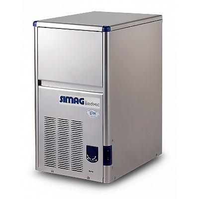 Bromic Im0018Hsc-He Self Contained Hollow Cube Ice Machine 18Kg/24Hr