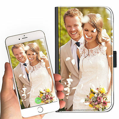 High Quality Personalised Custom Deluxe Leather Mobile Phone Case With Any Image