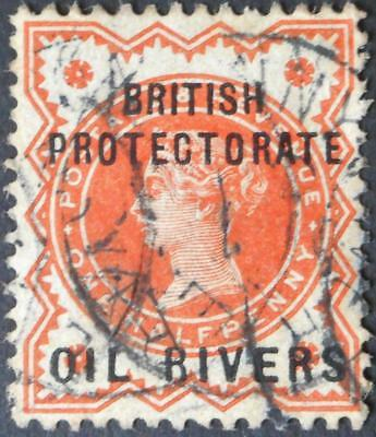 Nigeria/Oil Rivers 1892 1/2d SG 1 used