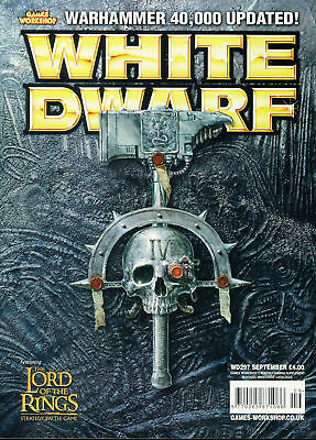 White Dwarf magazine #297 feat.Lord of the Rings stategy battle game Games Wo...