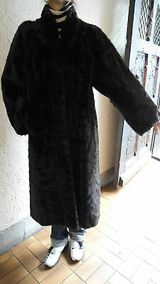 Luxus edler Mantel Nerzmantel Nerz Mink coat braun brown Норка NEU NEW