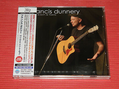 2018 FRANCIS DUNNERY One Night In Tokyo Acoustic Live  JAPAN 2 UHQ CD