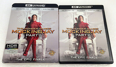 The Hunger Games: Mockingjay Part 2 (4K Ultra HD + Blu-ray)
