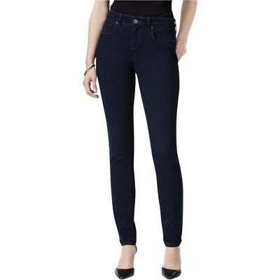 Style & Co. 5692 Womens Skinny Mid-Rise Curvy Fit Skinny Jeans BHFO