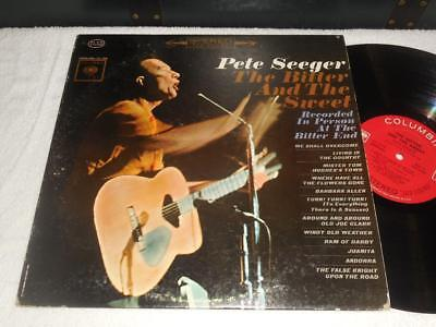 PETE SEEGER~The Bitter and the Sweet 1962 COLUMBIA ORIG 2 EYE STEREO FOLK LP