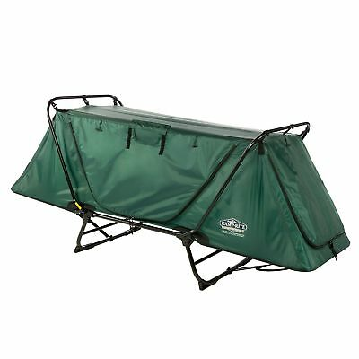 Kamp-Rite Original Tent Cot Folding Camping and Hiking Bed for 1 Person, Green
