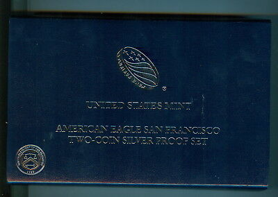 2012 American Silver San Francisco Two - Coin Silver Proof Set