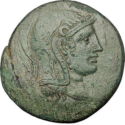 AMISOS in PONTUS MITHRADATES VI the GREAT Time Perseus Medusa Greek Coin i53317