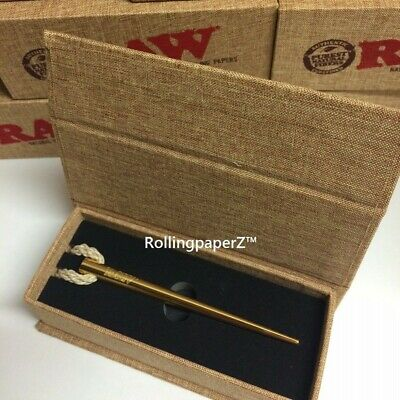 RAW Rolling Papers Gold Poker RAWTHENTIC - Use for Packing Cones or Pipe Tool