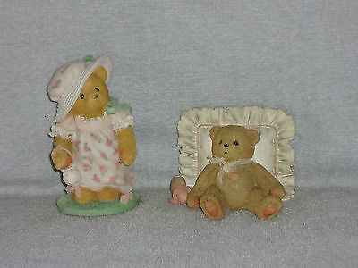2 Cherished Teddies Lisa Best Always You & Mandy Love You Just You Are Figurines