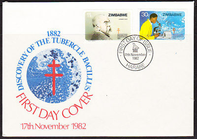 Zimbabwe 1982 Tuberculosis First Day Cover