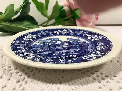 "Copeland Spode Blue Tower 6-1/2"" Bread & Butter Plate Later Mark Superb"