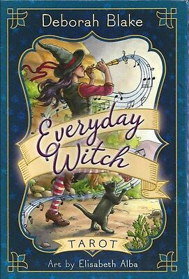 EVERYDAY WITCH TAROT KIT Deck Card Book Set wicca pagan fortune oracle cards