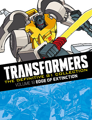 Transformers Definitive G1 Collection Volume 18 Edge Of Extinction