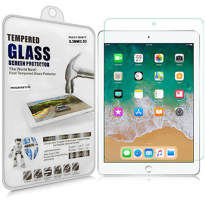 Gorilla Shockproof Tempered Glass Screen Protector For Apple iPad 2 3 4 Air Mini