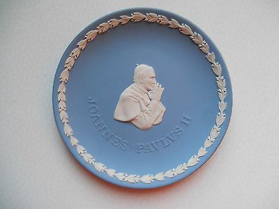 Wedgwood Assiette Jean Paul Ii 16,5Cm Impeccable
