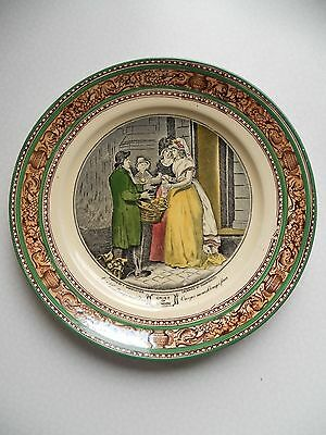 "Ancienne Assiette Faïence Adams "" Cries Of London """