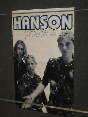 HANSON - Snowed In (group photo) 1997 Poster