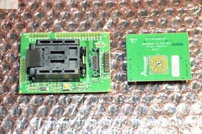 Freescale MPC5604E 64 pin QFP Target Adapter LFTA56EE2T with PPC5604E CPU