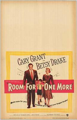 ROOM FOR ONE MORE original 1952 movie poster CARY GRANT/BETSY DRAKE