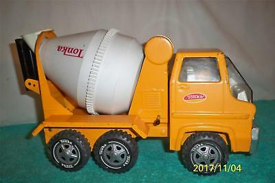 """Tonka Good 1972 # 2620 Cement Mixer Truck Fully Working Pressed Steel 14 """" Long"""