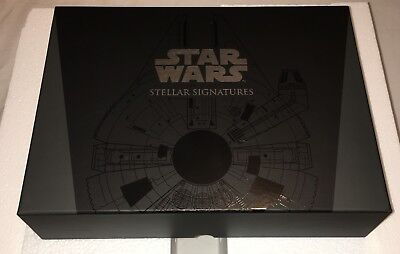 2017 Star Wars Stellar Signatures Empty Box- Perfect Storage for your Collection