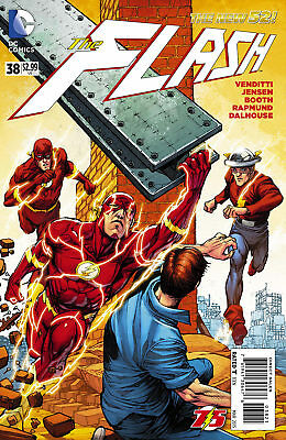 FLASH #38, FLASH 75 VARIANT, New, First Print, DC New 52 (2015)