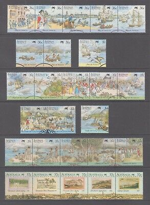 Australia 1987-88 Bicentennial Fine used collection 26 stamps