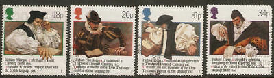 Collectible Great Britain 1988 USED Stamps:400th Anniversary of Welsh Bible