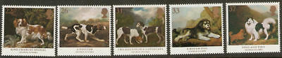 Collectible Great Britain 1991 MNH Stamps: Dogs