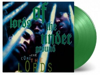Lords Of The Underground Here Come The Lords New Sealed Green Vinyl 2Lp In Stock