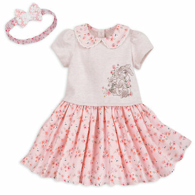 4ad426316e7 Disney Store Miss Bunny Knit Dress Set   Headband With Lace Covered Bow  Adorable