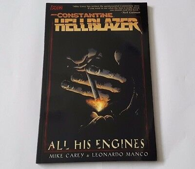 Constantine: Hellblazer All His Engines - Graphic novel book 2006