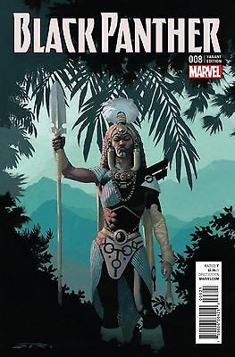 BLACK PANTHER #8, RIBIC CONNECTING D VARIANT, New, Marvel Comics (2016)