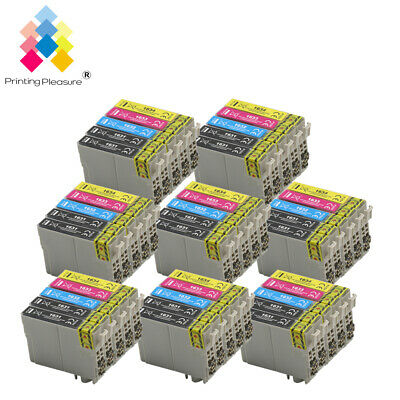 40 Ink Cartridges Set + Bk PP® for Epson Workforce WF-2010W WF-2630WF WF-2750DWF