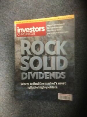INVESTORS CHRONICLE 15 January 21 January 2016. Rock solid dividends