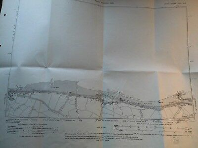 Reculver,wantsum,northern Sea Wall,thanet-Kent-1871934 Map-Landtax Plan-Ordnance