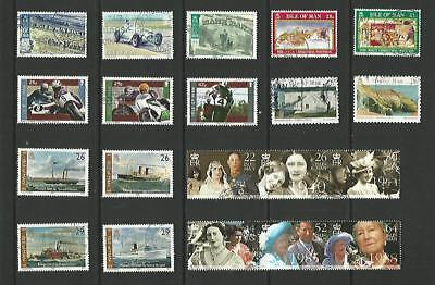y3976 Isle of Man / A Small Collection Early & Modern Lhm & Used