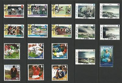 y3977 Isle of Man / A Small Collection Early & Modern Lhm & Used