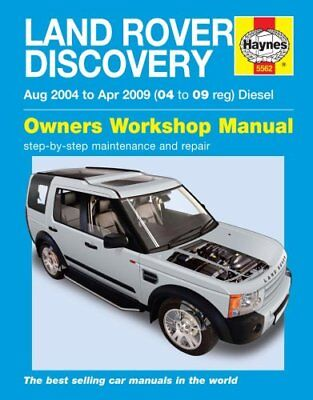 Land Rover Discovery Diesel Service and Repair Manual 9780857339836