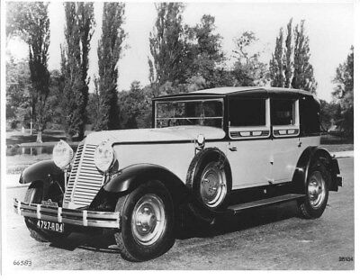 1930 Renault Reinastella Type RM Cabriolet ORIGINAL Factory Photo oua2009