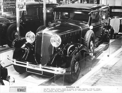 1932 Renault Reinastella ORIGINAL Factory Photo oua2011