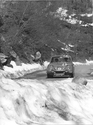1967 Renault Rallye Dei Fiori ORIGINAL Factory Photo oua2038